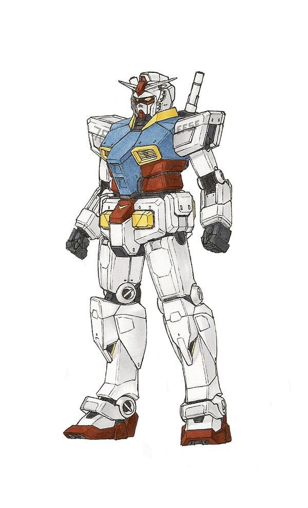 Gundam RX-78-2 Ver. Te by Tekka-Croe