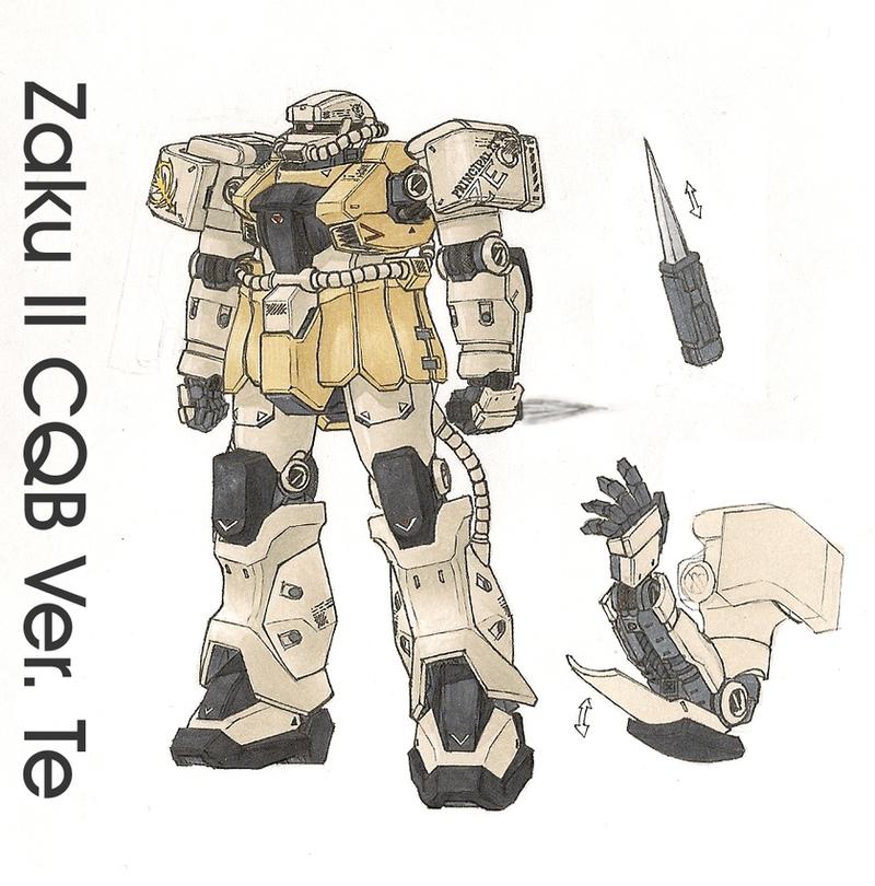 Zaku II CQB - Ver. Te by Tekka-Croe