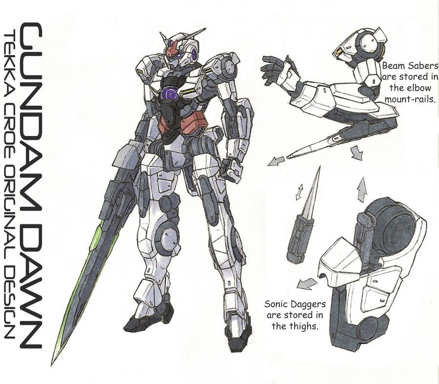Gundam Dawn reference by Tekka-Croe