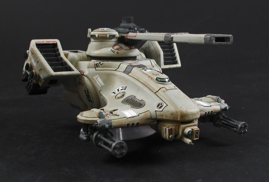Tau Hammerhead Tank by Tekka-Croe