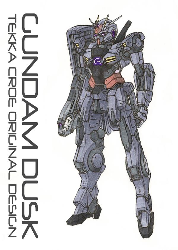 Gundam Dusk by Tekka-Croe