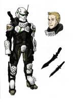 Captain Jerid Bannon by Tekka-Croe
