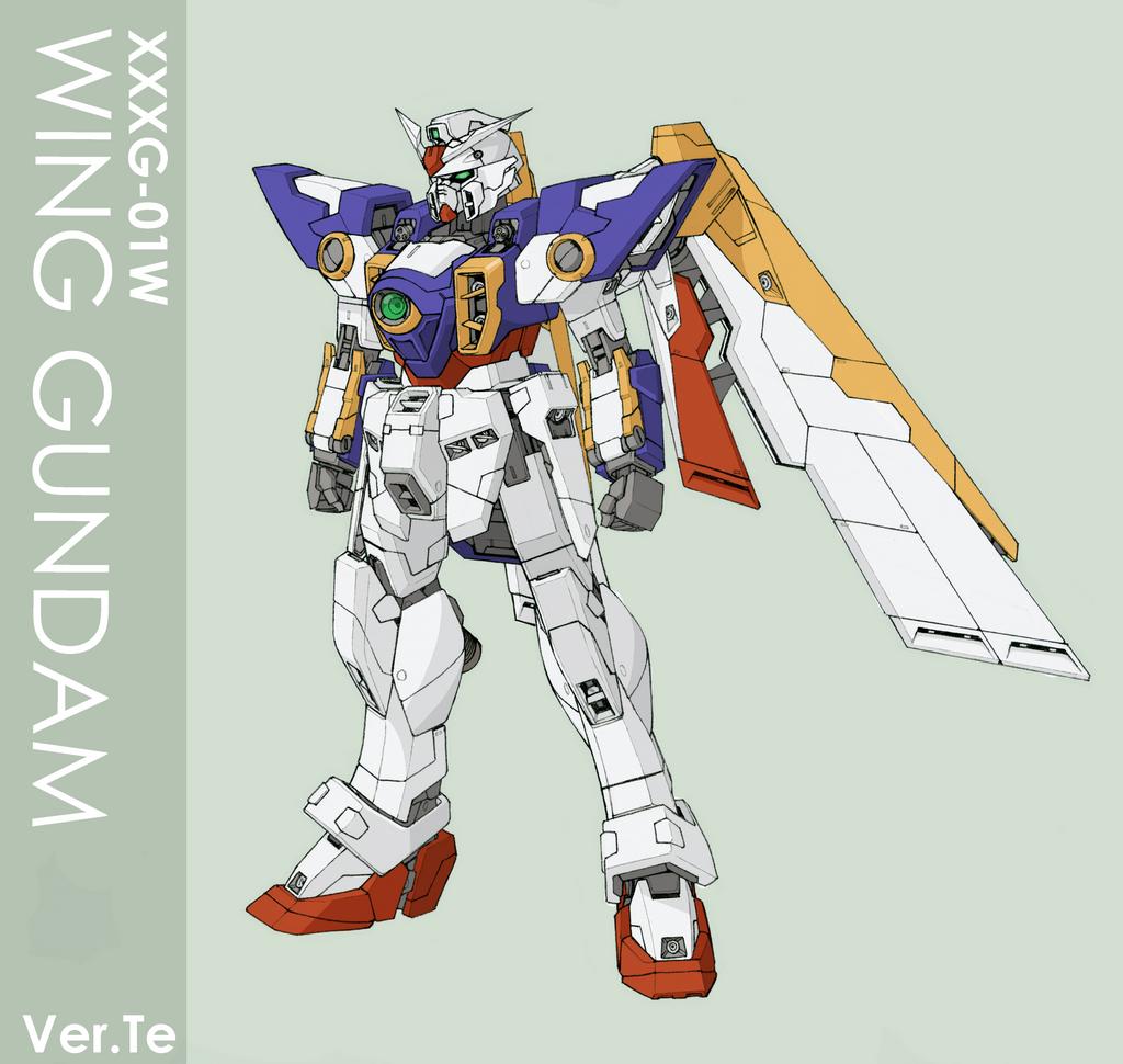Wing Gundam Ver.te by Tekka-Croe