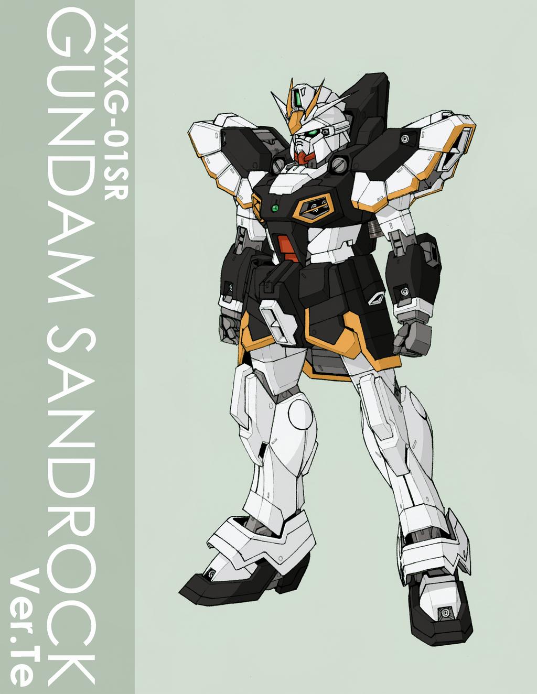 Gundam Sandrock Ver.Te by Tekka-Croe