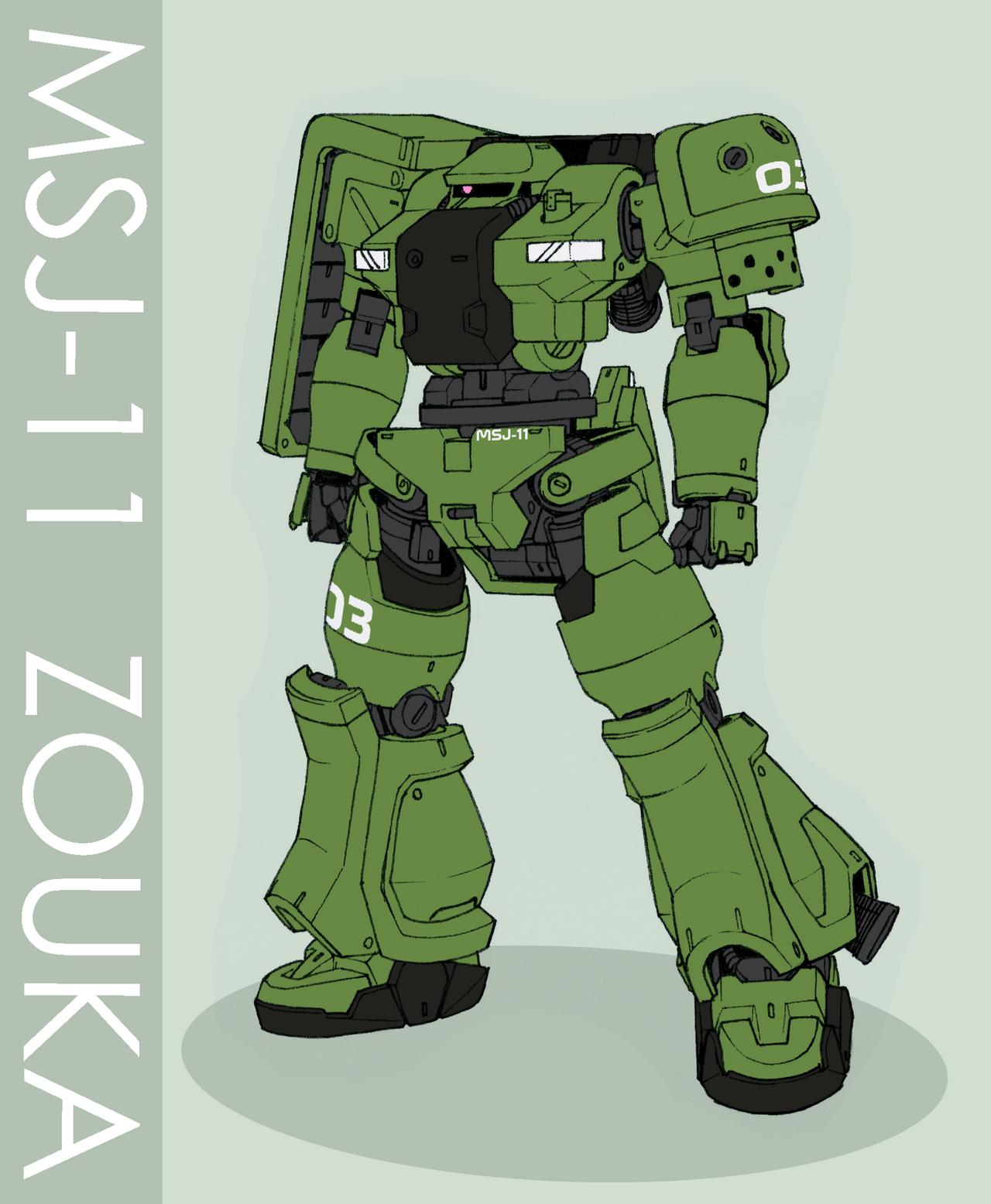MSJ-11 Zouka by Tekka-Croe