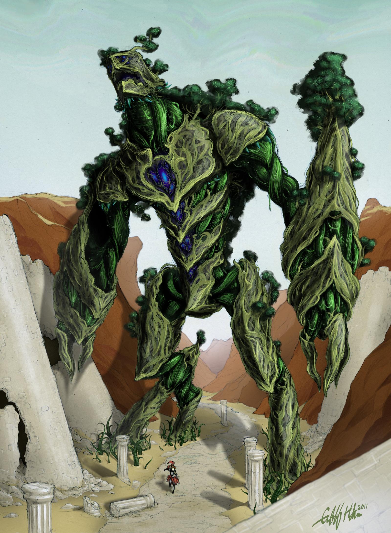 Arbordaunt - Life Colossus by Tekka-Croe