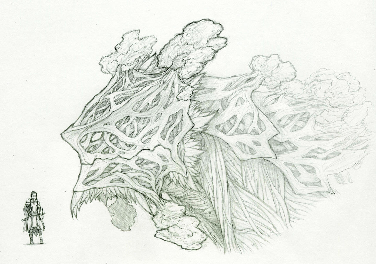 Arbordaunt - Head Study by Tekka-Croe