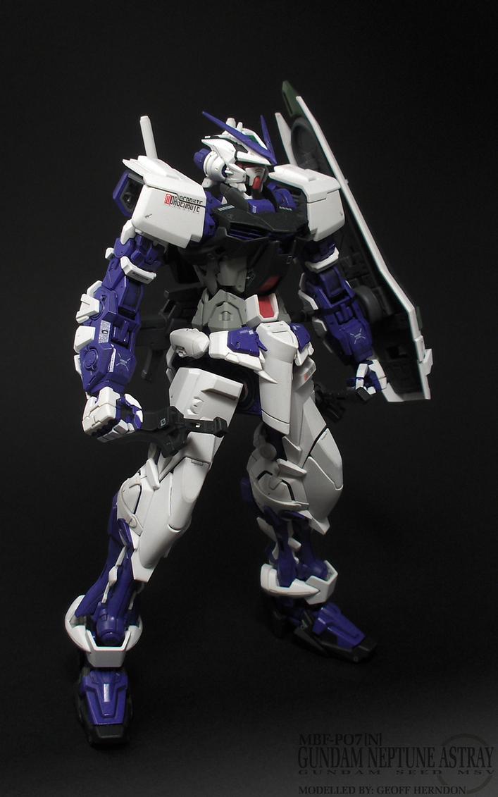 Gundam Neptune Astray MG by Tekka-Croe