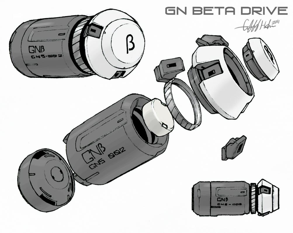 GN Beta Drive Schematic by Tekka-Croe