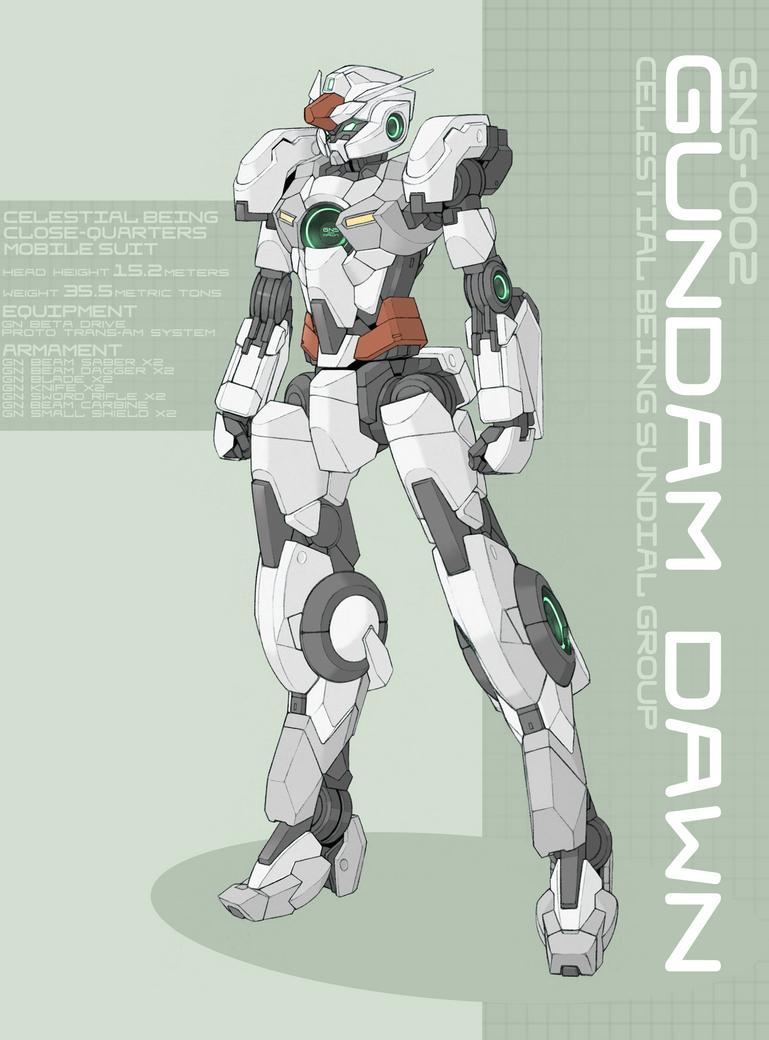 Gundam Dawn by Tekka-Croe