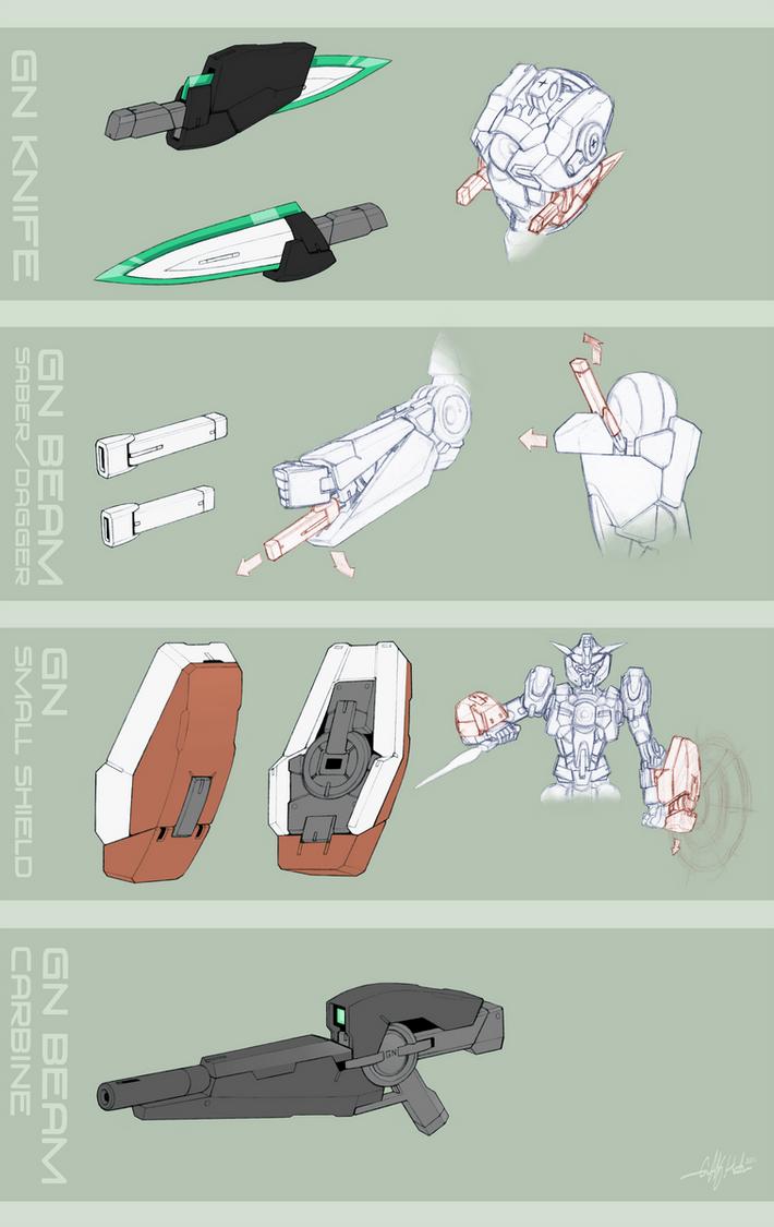 Gundam Dawn- Arsenal by Tekka-Croe