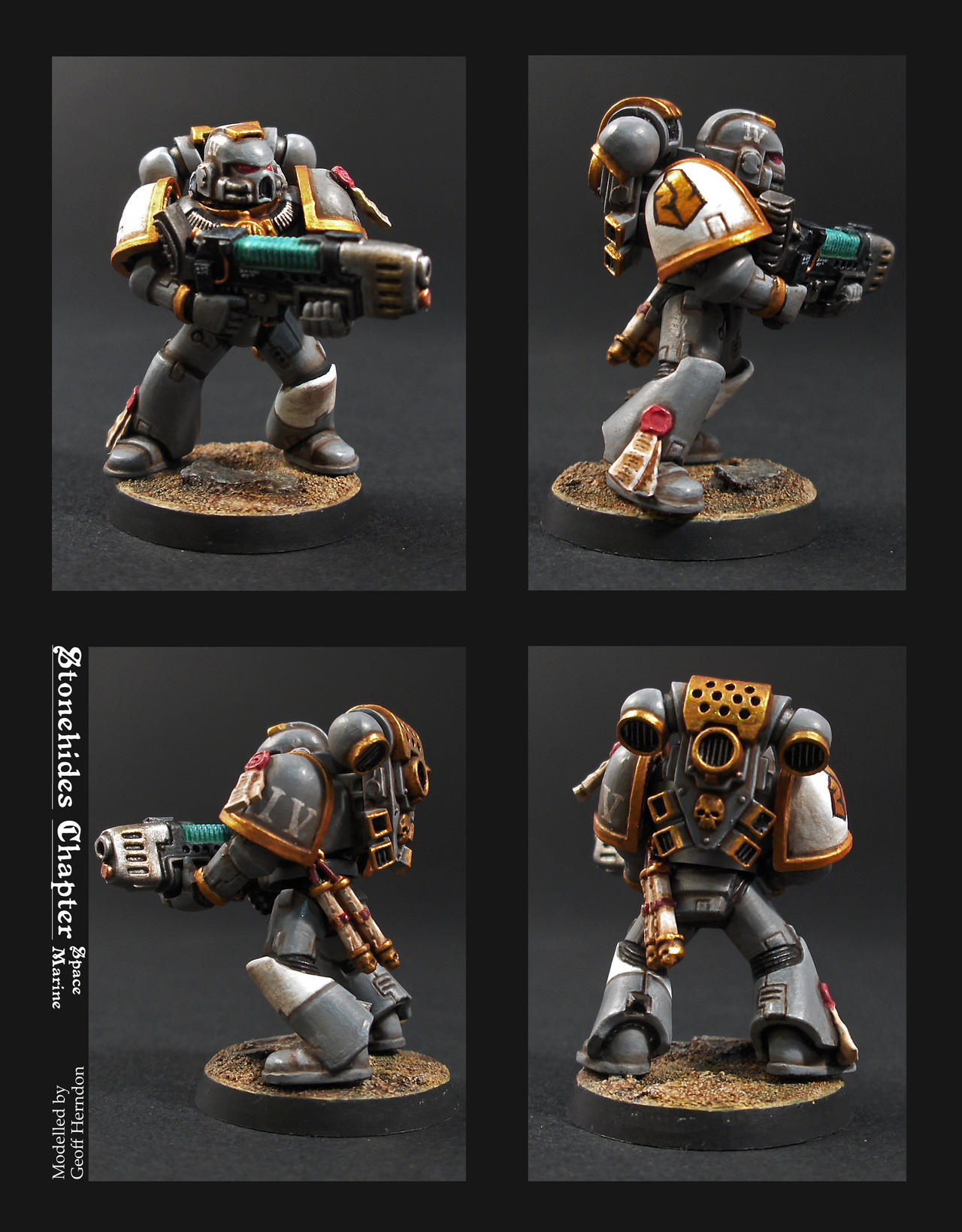 """Stonehides"" Marine Adept by Tekka-Croe"