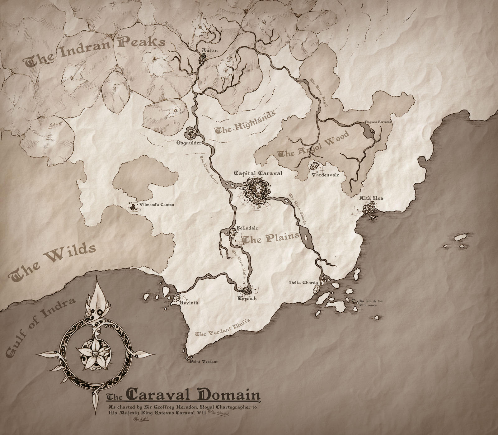 The Caraval Domain by Tekka-Croe