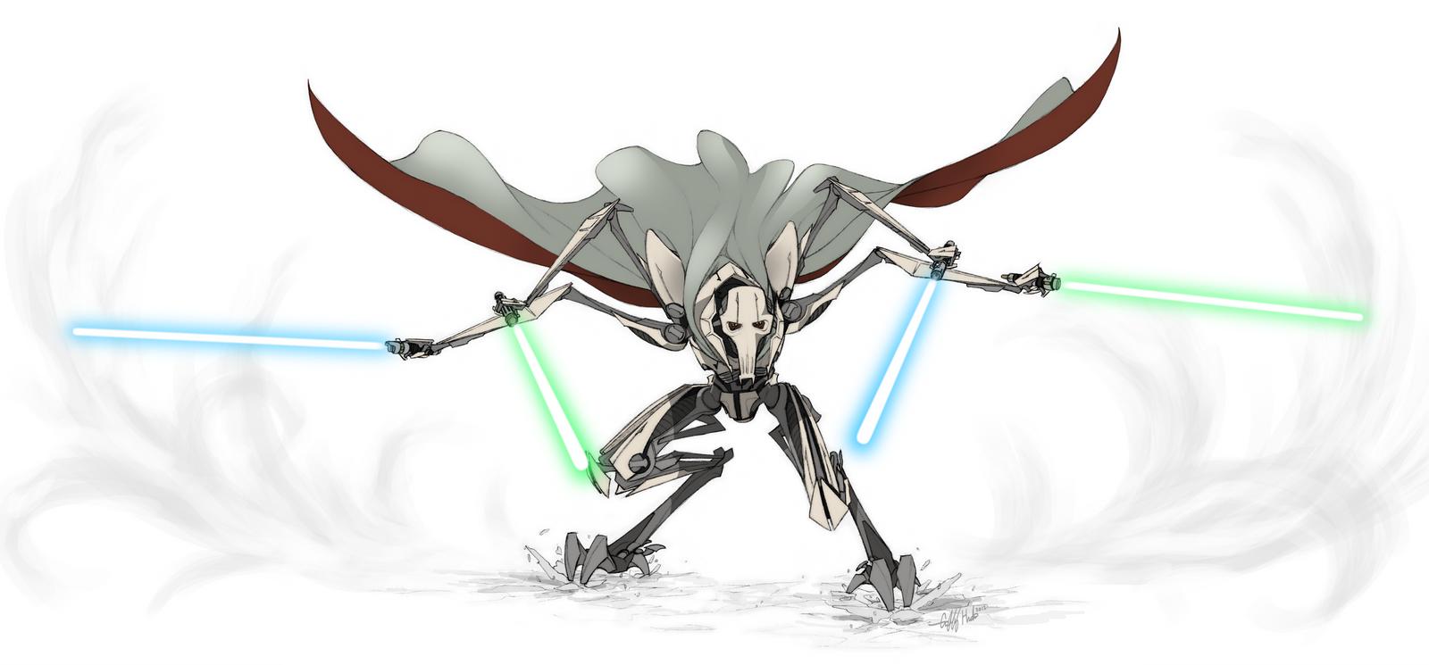 The Droid General by Tekka-Croe