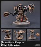 ''Stonehides'' Chief Librarian