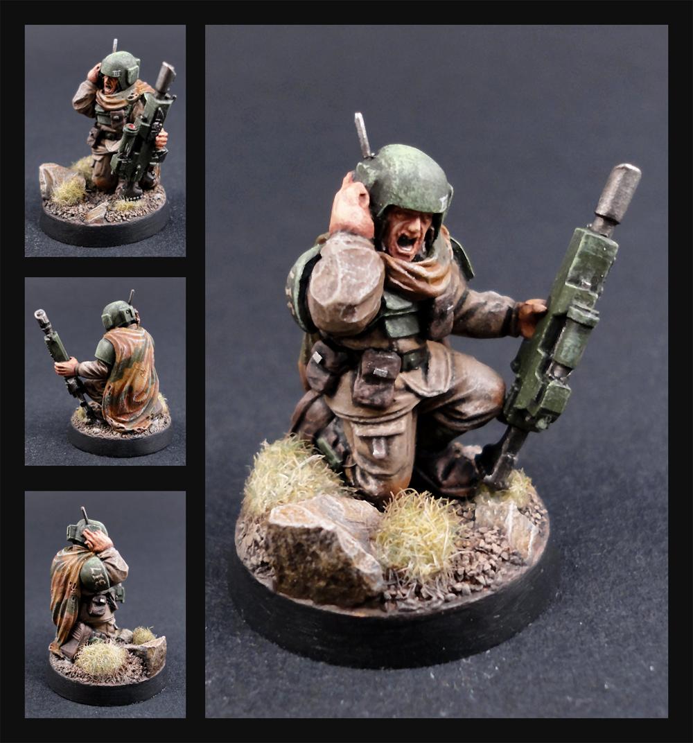 Cadian Scout by Tekka-Croe