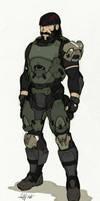 Trent Valimund (Timberwolfe) Armor Concept by Tekka-Croe