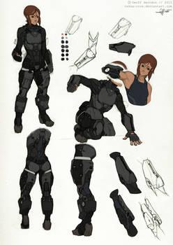 Reina- Armor Studies