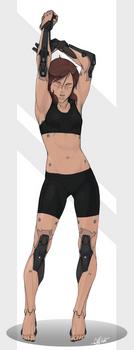 Reina- Prosthetics Studies by Tekka-Croe