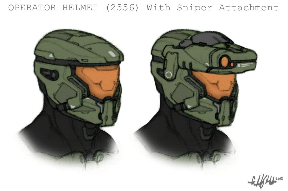 H4 Operator Helmet (Sniper) by Tekka-Croe
