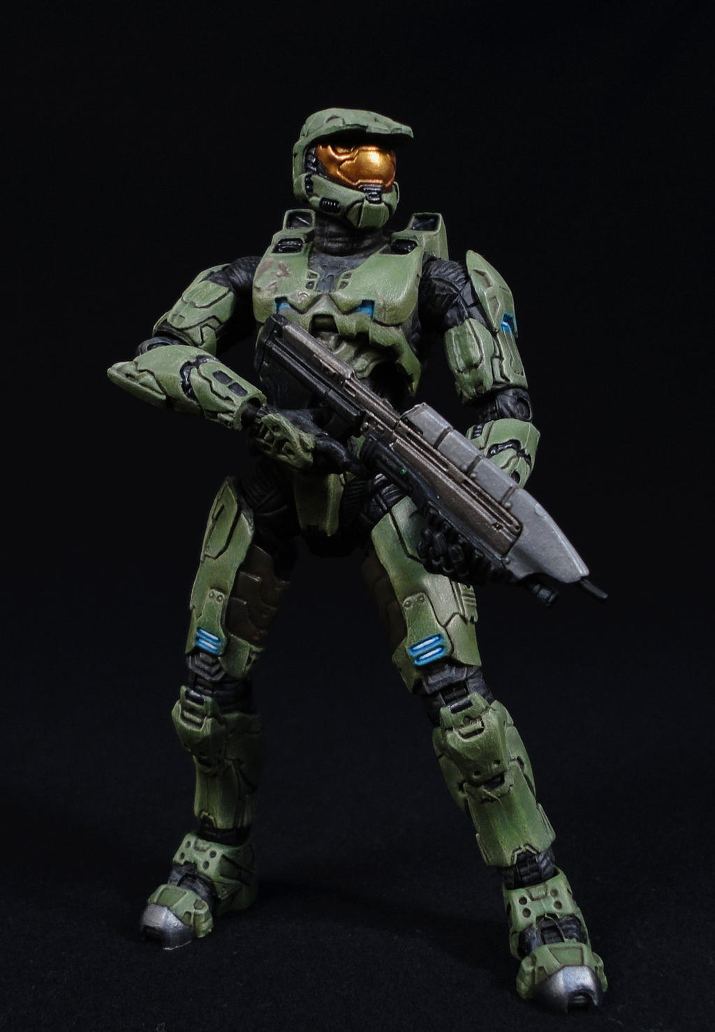 H3 Master Chief (Hand Painted) by Tekka-Croe
