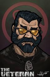Borderlands OC: The Veteran by Tekka-Croe