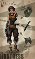 Borderlands OC: The Huntress