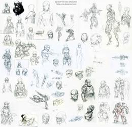 NI Sketchdump 2013