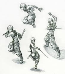 Reina- Movement Study by Tekka-Croe