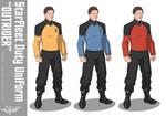 Starfleet 'Outrider' Duty Uniform
