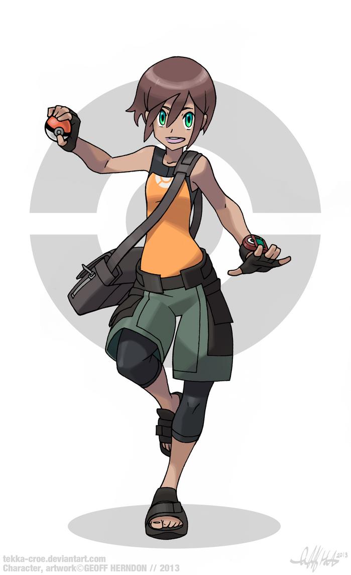 Pokemon tREINAr by Tekka-Croe