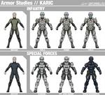 Karic Armor Studies