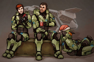 Spartans Don't Get Holidays Off. by Tekka-Croe
