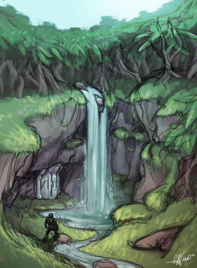 The Grotto (VENERANCE) by Tekka-Croe