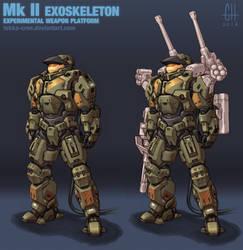 Mk II Exoskeleton by Tekka-Croe
