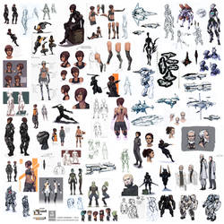 Novus Imperium Sketchdump 2014