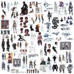 Novus Imperium Sketchdump 2014 by Tekka-Croe