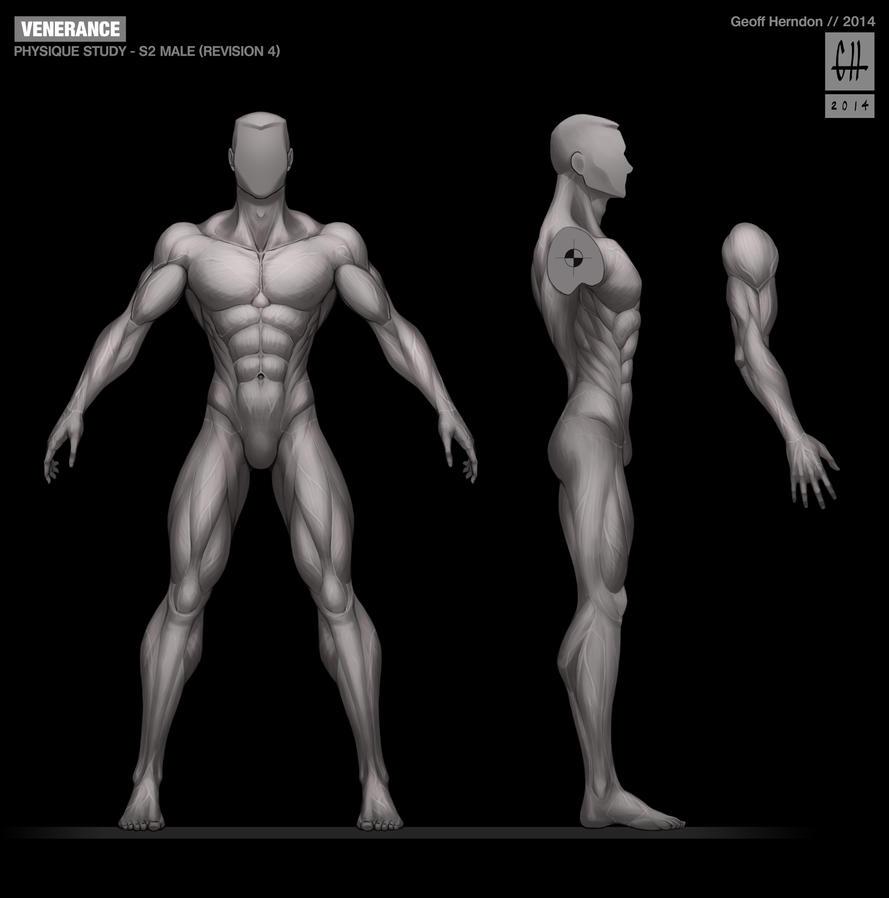 SPARTAN-II Male Physique Study by Tekka-Croe