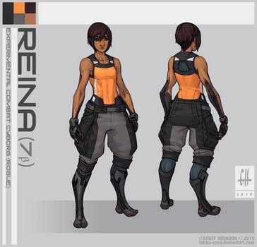 Reina (2015) by Tekka-Croe