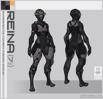 Reina's Armor (2015) by Tekka-Croe