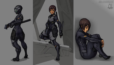 Reina's Armor (2016) by Tekka-Croe