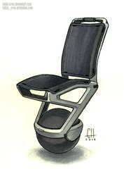 Inktober 2018 Day 27 (Desk Chair)