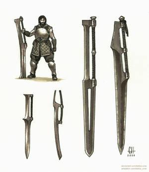 Beast Blades (Inktober 2020 Day 4)