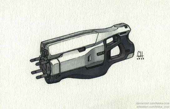 Stun Gun (Inktober 2020 Day 24)