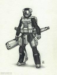 Engineer (Inktober 2020 Day 25)