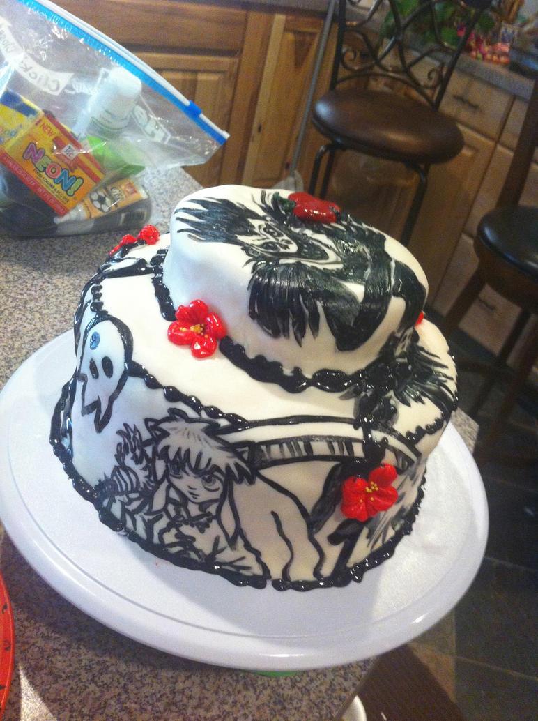 Sebastian Michaelis Birthday Cake