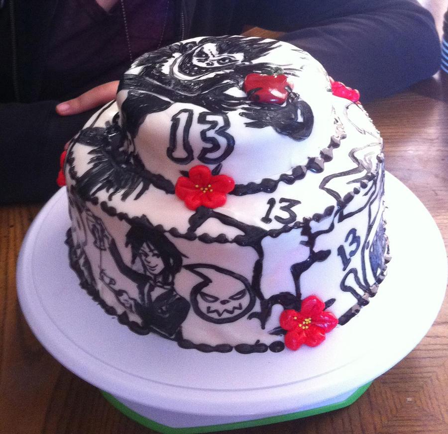 Anime Birthday Party Cake Www Imgkid Com The Image Kid