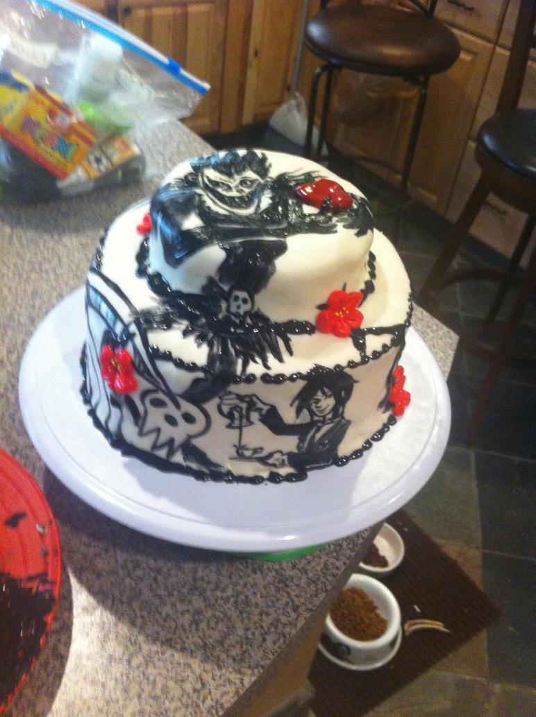 Anime Birthday Cake Attack On Titan