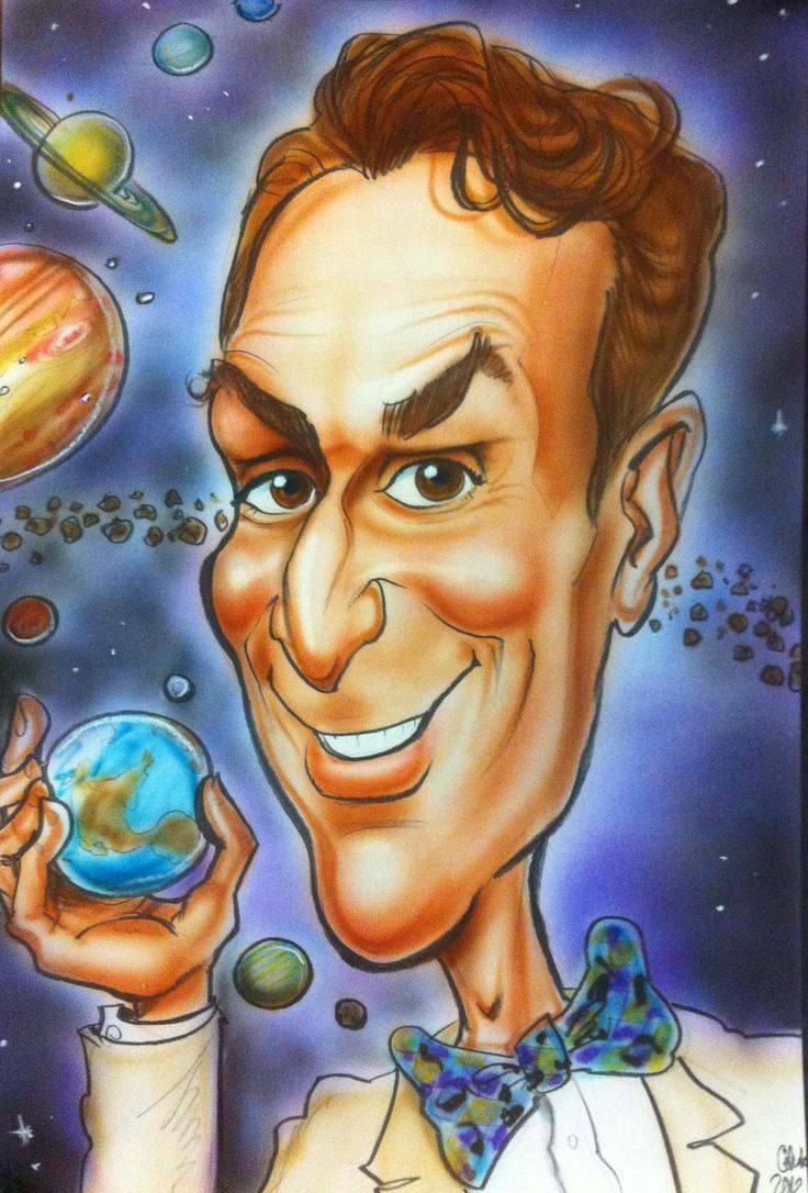 Bill Nye, Science God by CelestiaWard