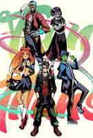 Teen Titans Asian by tolytomas